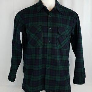Pendleton Mens Sz Large Wool Button Shirt